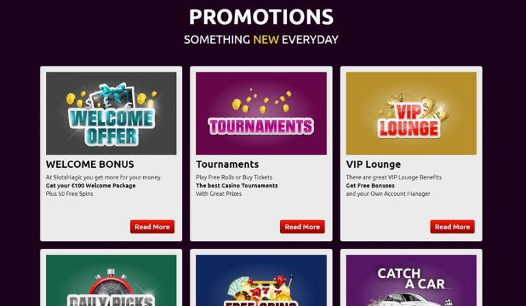 Lees meer over het artikel Spectaculaire casino bonussen van Slots Magic Casino