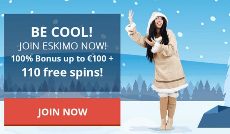 Welkomstbonus Eskimo Casino aanrader!