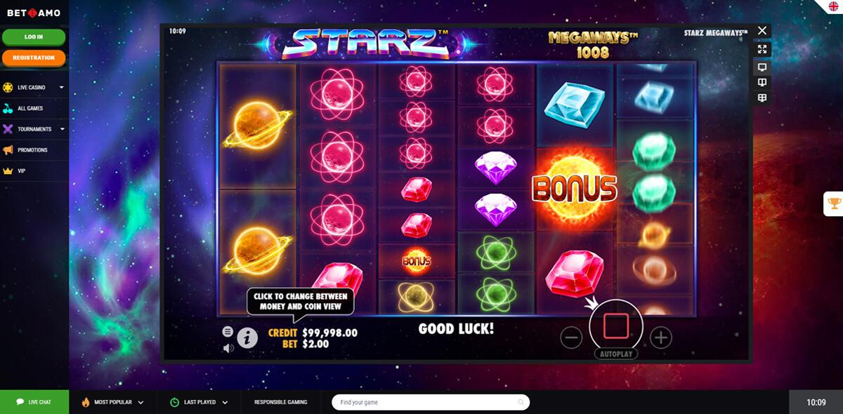 BetAmo Casino gratis spelen