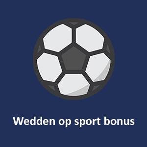 wedden op sport bonus