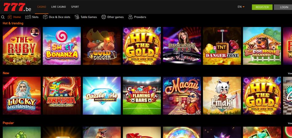 Casino777 screenshot
