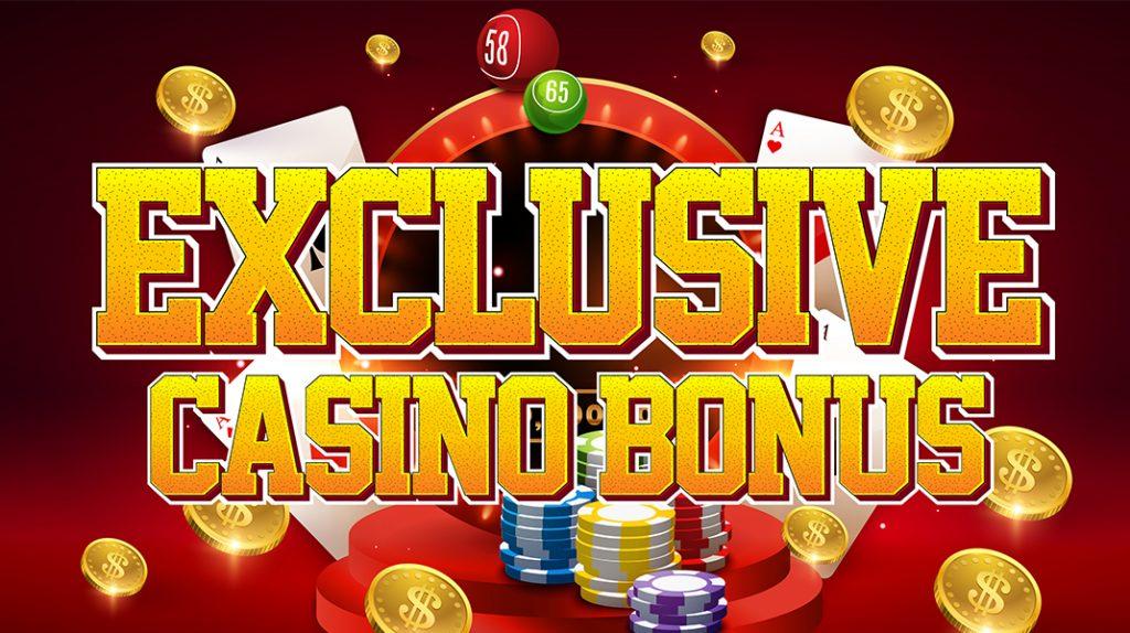 online exclusieve casino bonussen